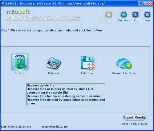 Windows 7 file recovery software